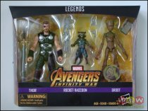 Thor, Rocket Raccoon & Groot - Marvel Legends - Exclusive