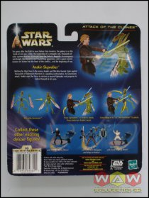 84882/84859 Anakin Skywalker + Geonosian Warrior - Lightsaber Slashing Action - DELUXE