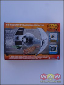 B0520 - B0518 The Inquisitor's TIE Advanced - Prototype Vehicle - Target Exclusive