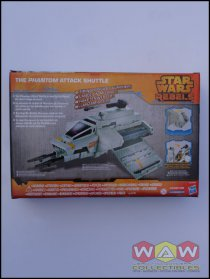 B0521 - B0518 The Phantom Attack Shuttle - Target Exclusive