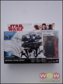 Imperial Probe Droid + Darth Vader