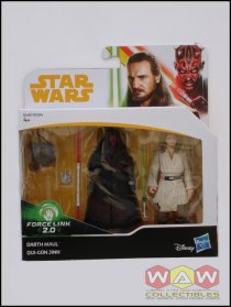 Darth Maul + Qui-Gon Jinn - 2-pack