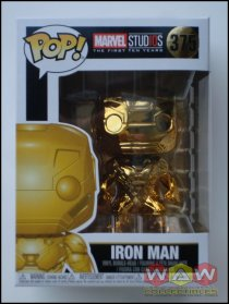 Iron Man - Chrome Gold