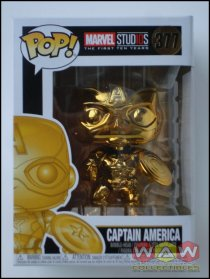 Captain America - Chrome Gold