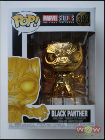 FK33520 Black Panther - Chrome Gold