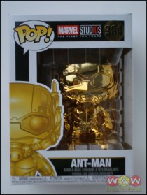 Ant Man - Chrome Gold