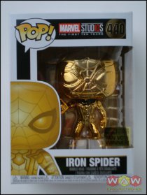 Iron Spider - Chrome Gold - Fan Vote Winner Stikker