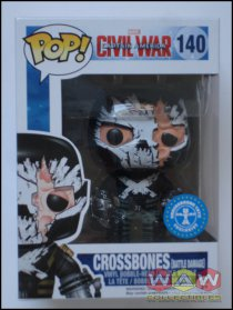 Crossbones - Battle Damaged - Underground Toys Exclusive