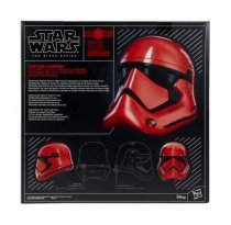 HASF0013 Captain Cardinal - Galaxy's Edge - Premium Electronic Helmet - Black Series