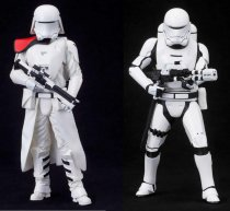KTOSW123 First Order Snowtrooper + Flametrooper - ARTFX+ - Scale 1/10 - 18 cm.
