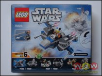 LEGO75125 Resistance X-Wing Fighter - Microfighters