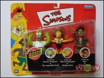 Homer + Edna + Apu - 3-pack - Bongo Comics Exclusive