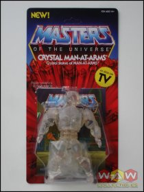 SUP7-03315 Crystal Man-At-Arms - Masters Of The Universe